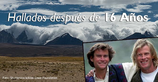 Después de 16 años encuentran dos montañistas congelados en el Himalaya