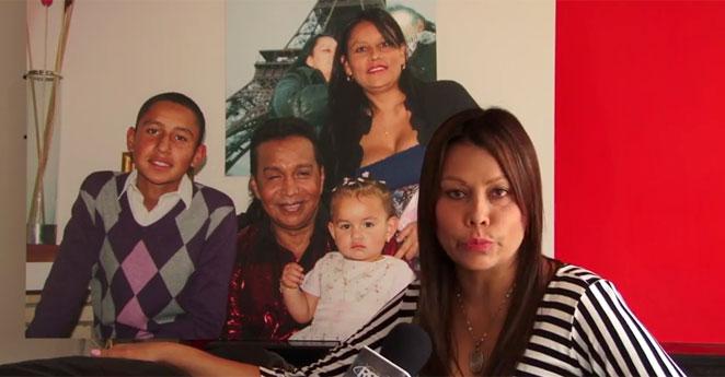 """""""Yo no soy una ladrona"""", dice la viuda de Diomedes Díaz"""