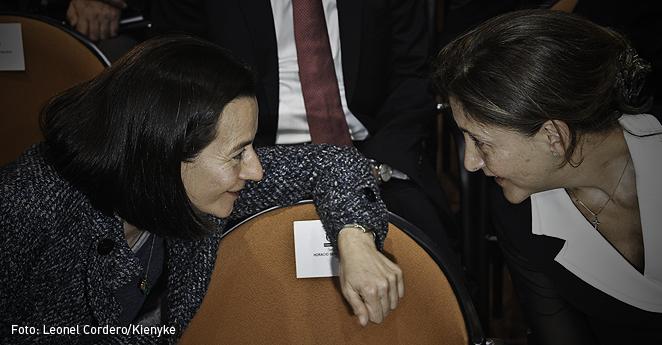 Ingrid Betancourt y Clara Rojas-p
