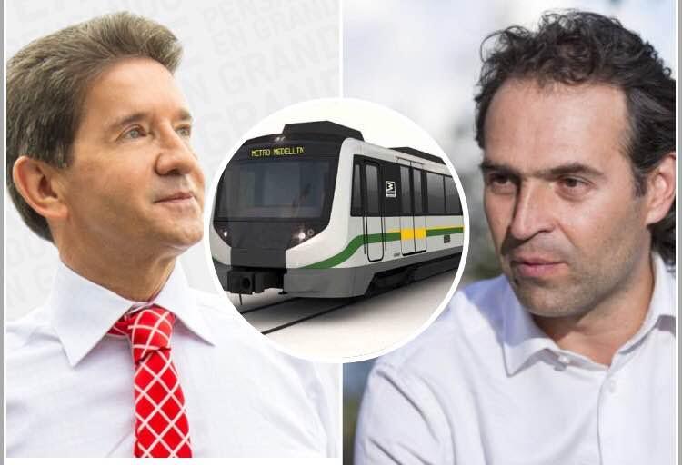 Gobernador de Antioquia y Alcalde de Medellín, ¿de pelea?