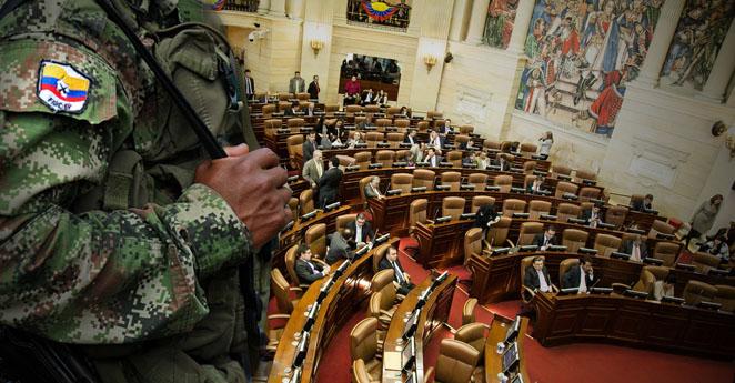 Congreso de la Republica, Senado, Plenaria