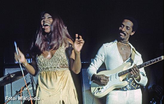 Ike Turner y Tina Turner