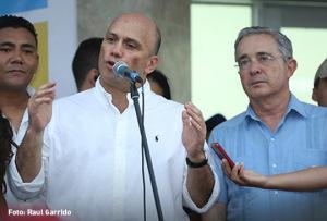 Sofia Sergio Araujo y Alvaro Uribe