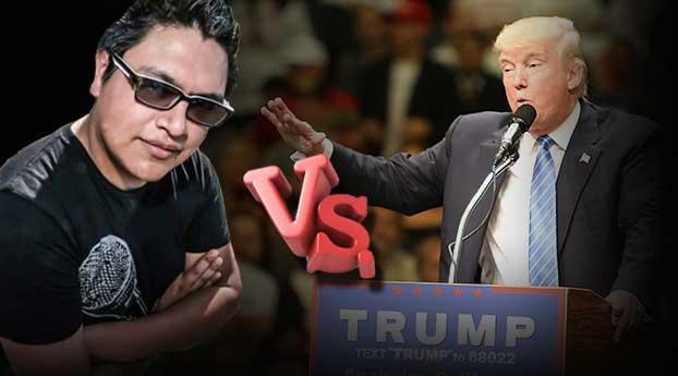 El inmigrante que le canta las verdades a Donald Trump