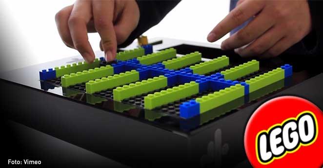 El colombiano premiado por hacer música con Lego