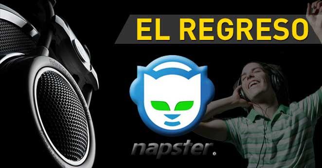 Napster quiere volver y competir contra Spotify