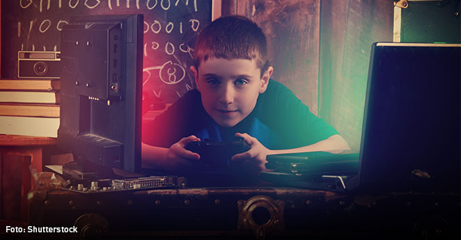 Los niños que programan sus propios videojuegos