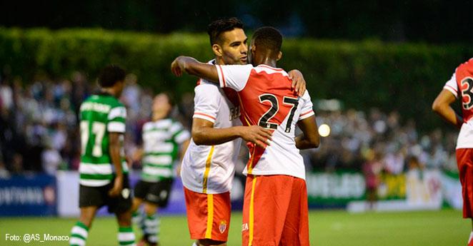 Video: Falcao le responde cánticos a hinchas del Tottenham