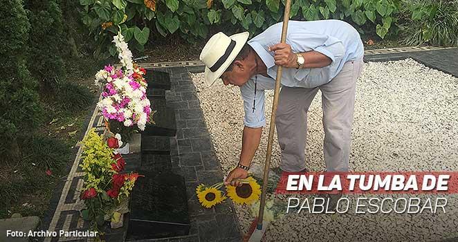 tumba de pablo escobar, la tumba del narco colombiano, narcos y lujos, familia de los narcos, pablo escobar, cartel de medellin, popeye y la tumba de us jefe