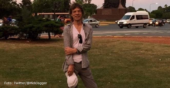 Mick Jagger será papá por octava vez a sus 72 años