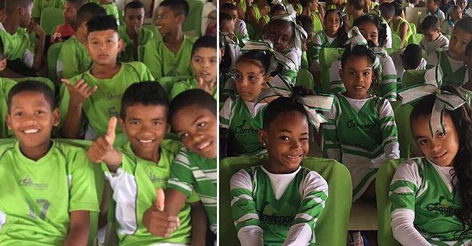 El aporte de Comfenalco Antioquia a 575 niños de Urabá