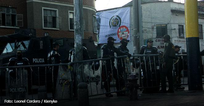Operativos en centro de Bogotá para capturar temibles 'sayayines'