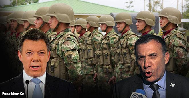 Roy Barreras y Santos buscan que los militares tengan derecho al voto