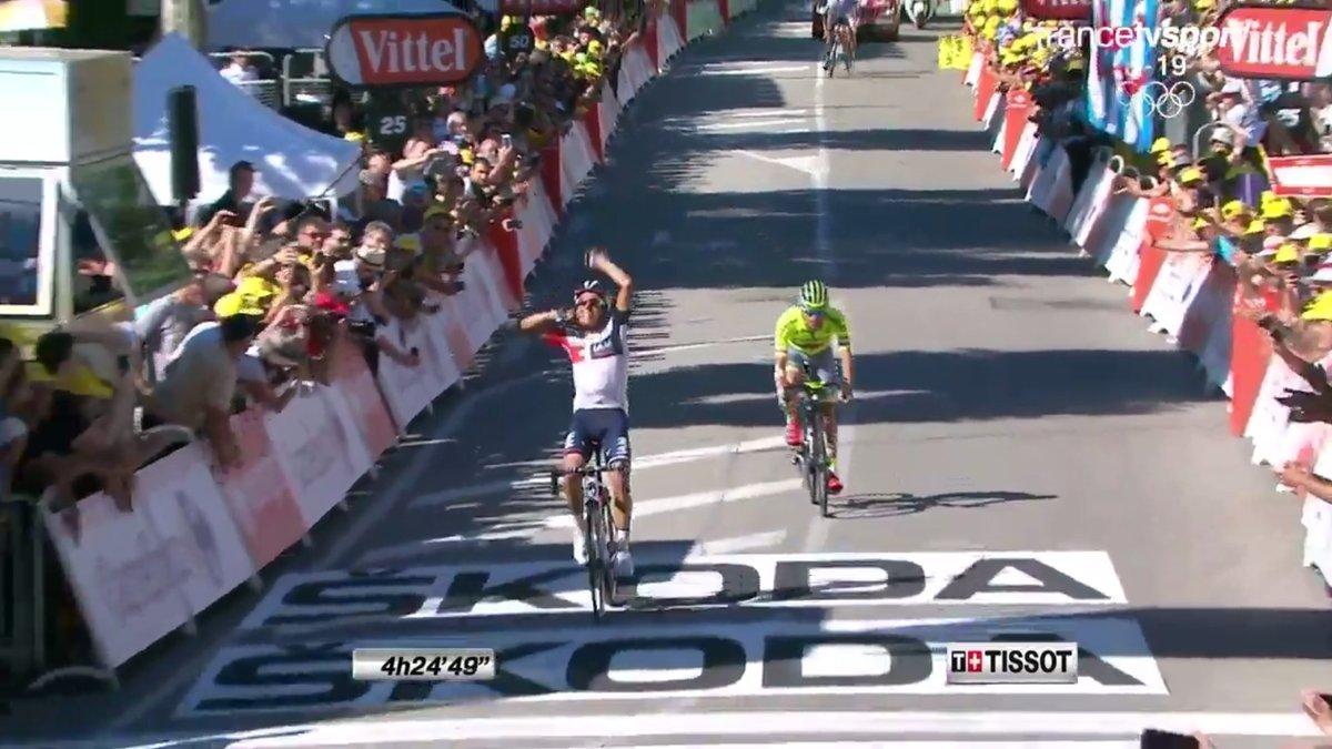Jarlinson Pantano gana la etapa 15 del Tour de Francia