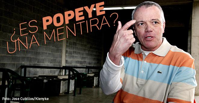 La fama de Popeye está basada en mentiras