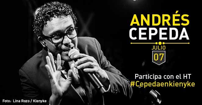Andrés Cepeda tendrá un diálogo con los lectores de KienyKe.com