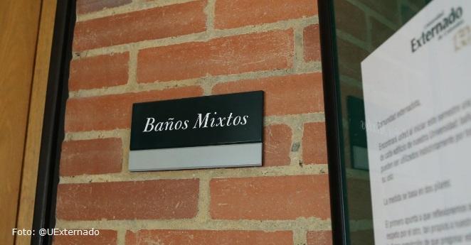 Universidad Externado inicia semestre con baños mixtos en todos sus edificios