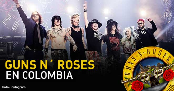 guns and roses, concierto guns, guns and roses en colombia, boletas concierto guns and roses, valor concierto guns and roses