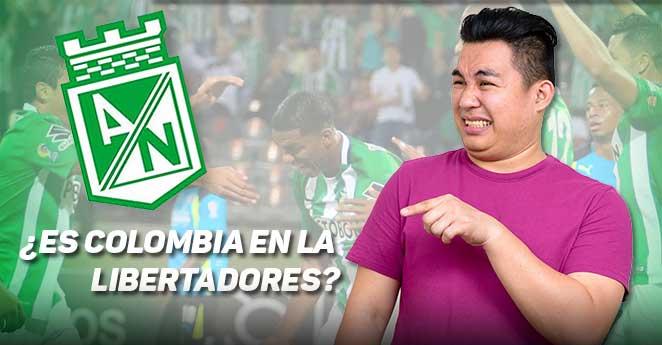 Nacional no es Colombia en la Libertadores