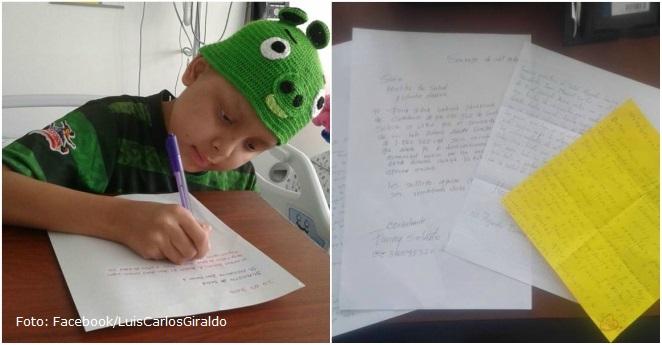 Con lluvia de cartas, niños con cáncer suplican atención a Santos