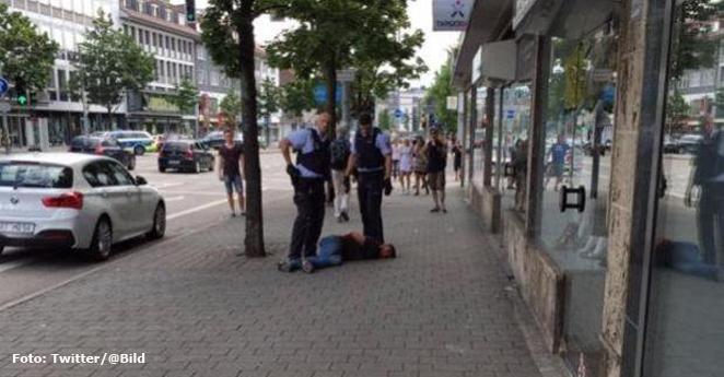 Sirio asesinó con machete a una mujer y dejó dos heridos en Alemania