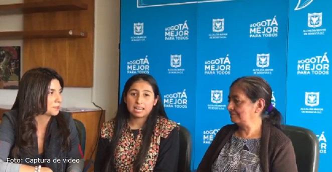 Colombiana que quiere estudiar en EE.UU: la Ministra me dice que desista