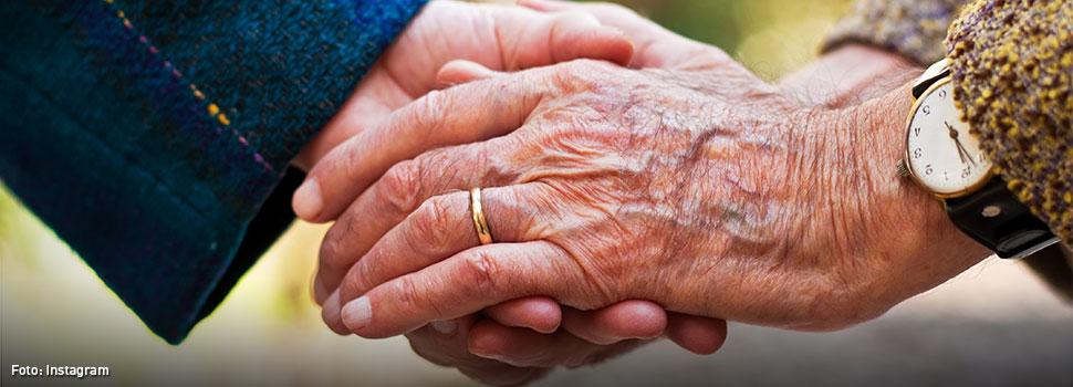 Murieron agarrados de la mano luego de 58 años de matrimonio