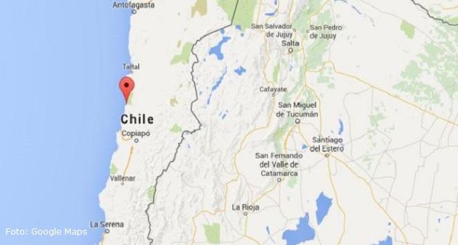 terremoto google chile