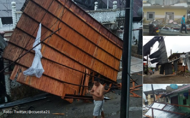 Declarada calamidad pública por vendaval en Quibdó, Chocó