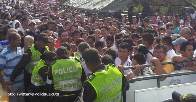 Lo que gastaron los venezolanos que cruzaron la frontera