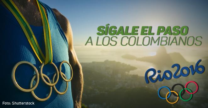 Los colombianos que competirán hoy en los Juegos Olímpicos de Rio