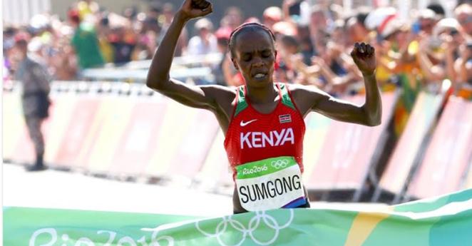 Se escapó el triunfo para Colombia en la maratón femenina de Río