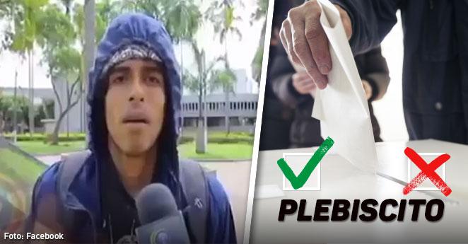 """""""Es lo mejor para el planeta"""", respuesta viral sobre el apoyo al proceso de paz"""