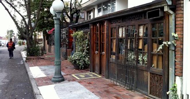 Al interior del restaurante favorito de Jaime Garzón