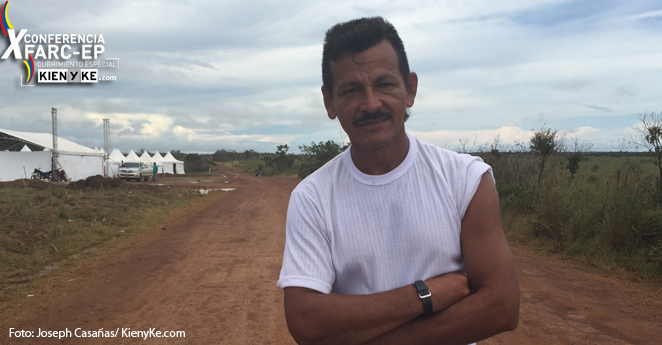 Habla Rodrigo Cadete, comandante del Frente 27 de las Farc