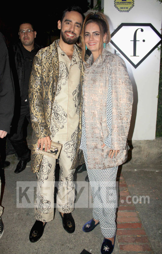 Alt Nelson Rueda y Maria Jose Martinez tendencia moda