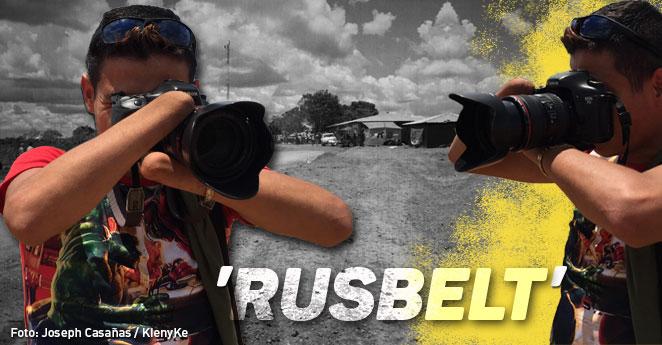 Rusbelt, el camarógrafo de las Farc que la guerra dejó sin manos
