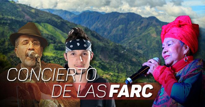 Las Farc darán un concierto el día de la firma de la paz