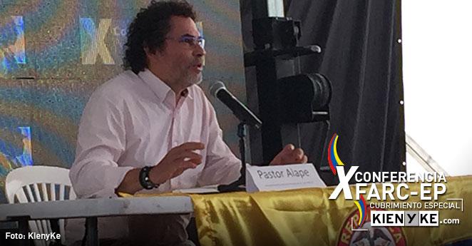 Pastor Alape: Colombianos verificarán que las Farc y el Gobierno cumplan lo acordado