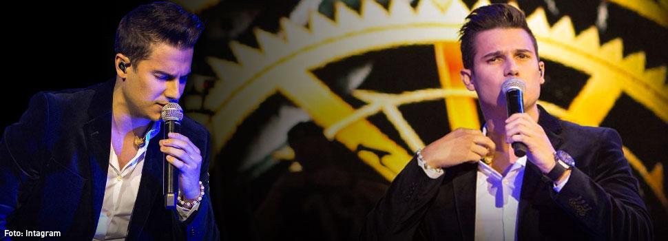Video: Pipe Bueno protagoniza escándalo en concierto
