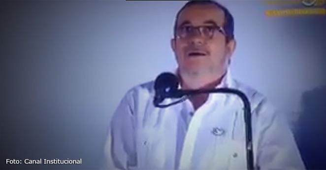 (Video) El susto de Timochenko tras el paso de un avión militar