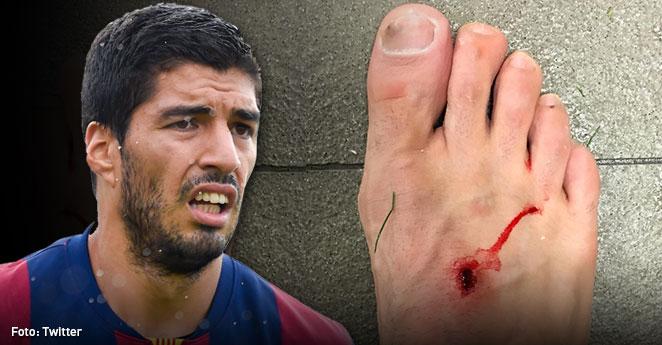 (Video) El rifirrafe entre Luis Suárez y Filipe Luis