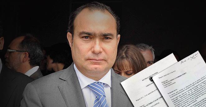Jorge Pretelt pide que no le quiten su esquema de seguridad
