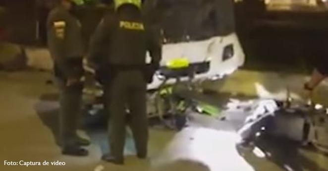 Libre conductor que dejó dos muertos y seis heridos en accidente