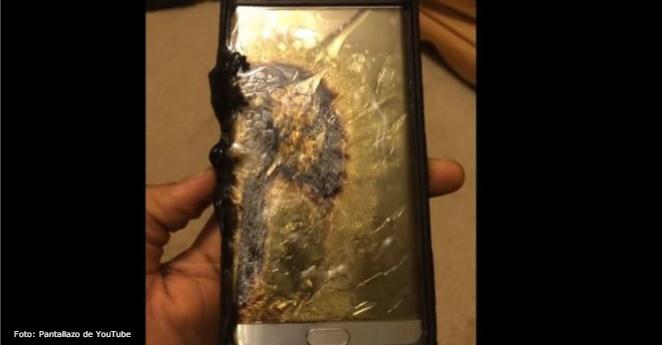¡Fuego! ¿Al iPhone 7 le pasa lo mismo que al Galaxy Note 7?
