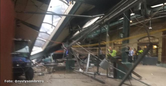 Tres muertos en accidente de tren en Nueva Jersey