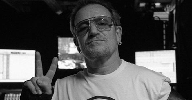 Bono, de la banda U2, dedica un mensaje a la paz de Colombia