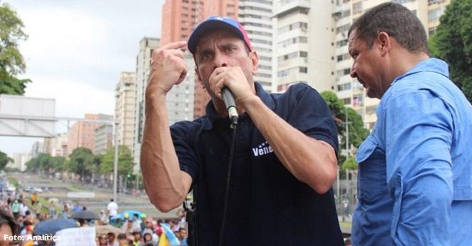 Capriles: En octubre se tomarán decisiones trascendentales para Venezuela