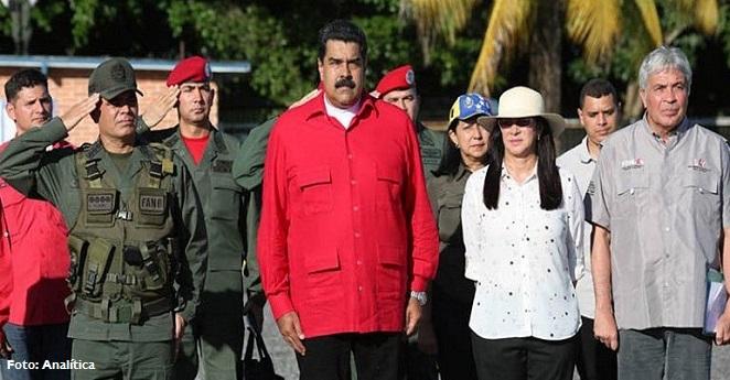 """""""Soy tu padre Santos, ¿o no?"""": Nicolás Maduro"""