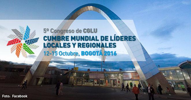 Alt Cumbre Mundial de Líderes Locales y Regionales Bogotá 2016